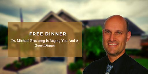 The Cause is the CURE! FREE Dinner with Dr. Michael Brackney