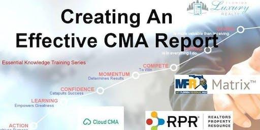 How to Create a Winning CMA