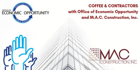 COFFEE & CONTRACTORS with M-DCPS OEO and M.A.C. Construction, Inc. tickets
