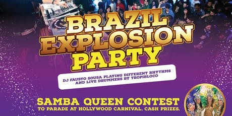 BRAZIL EXPLOSION PARTY tickets