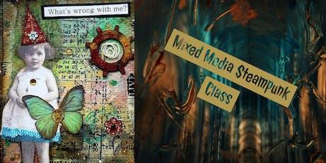 Mixed Media Steampunk Art Class tickets