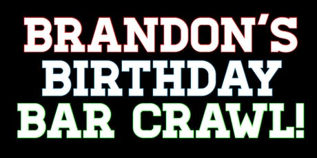 Brandon's Jersey Birthday Bar Crawl tickets