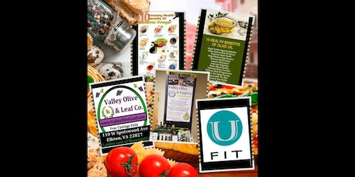 Fun, Fit, & Tasty! Valley Olive and Leaf Demo at U Fit, Mount Crawford VA