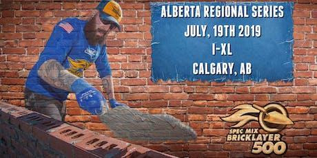 SPEC MIX BRICKLAYER 500® Alberta Regional Series tickets