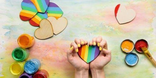 Celebrate Pride Paint Night