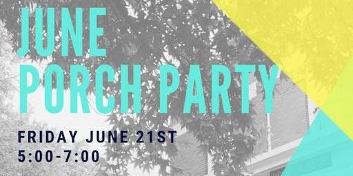 June Porch Party