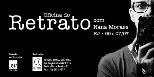Oficina do Retrato, com Nana Moraes