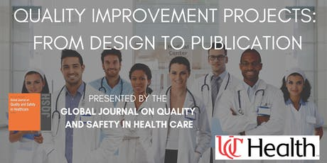 "Masterclass on ""Quality Improvement Projects: From Design to Publication"" tickets"