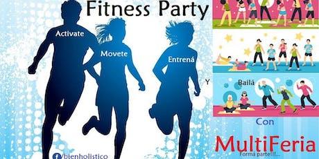 1º Fitness Party con MultiFeria entradas