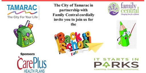 City of Tamarac Back to School Fair