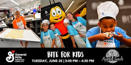BITE for Kids | An Apple Seeds Cooking Class presented by General Mills  tickets