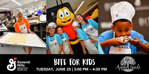 BITE for Kids | An Apple Seeds Cooking Class presented by General Mills
