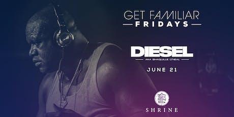 Diesel | Shrine Foxwoods 6.21.19 tickets