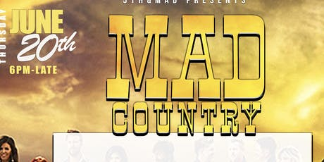 """Theme Thursdays  :: """"Mad"""" Country tickets"""