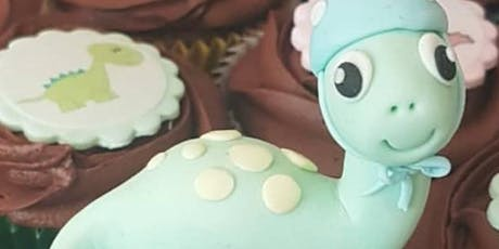 Cute Dinosaur Modelling Paste Cake Decorating Workshop tickets