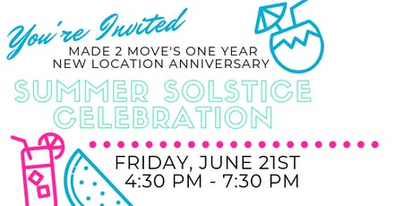 M2M One Year Anniversary: Summer Solstice Celebration tickets