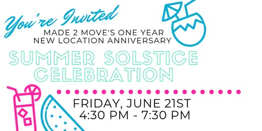M2M One Year Anniversary: Summer Solstice Celebration