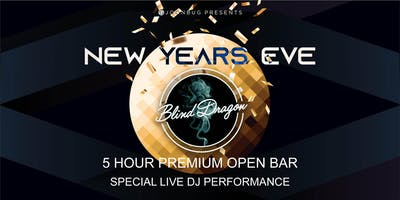 Joonbug.com Presents Blind Dragon New Years Eve Party 2020