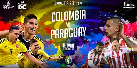Colombia vs Paraguay tickets