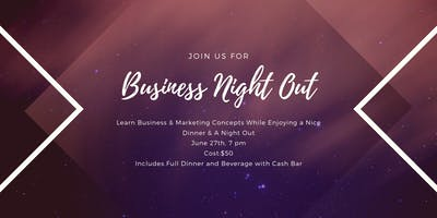 Business Night Out Kick-Off