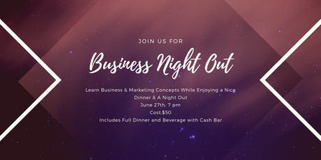 Business Night Out Kick-Off tickets