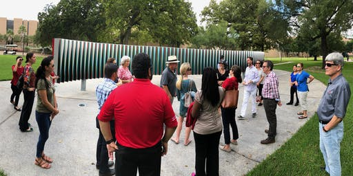 November- Tour of the Public Art of the University of Houston System