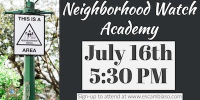 Neighborhood Watch Academy