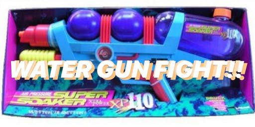 WATER GUN FIGHT! ADULTS ONLY