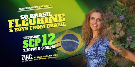 Só Brasil: Fleurine & Boys from Brazil tickets