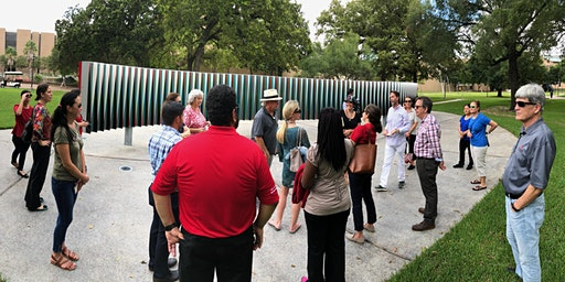March- Tour of the Public Art of the University of Houston System