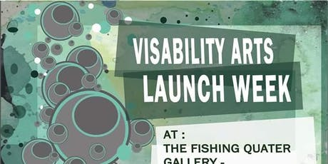 Visability Arts launch week tickets