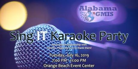 Sing IT Karaoke Party tickets