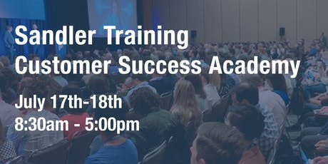 Two-Day Customer Success Academy tickets