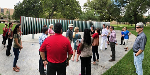 May- Tour of the Public Art of the University of Houston System