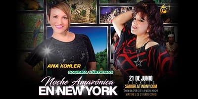 """Ana Kolher & Sandra Cárdenas """"Noche Amazónica"""""""
