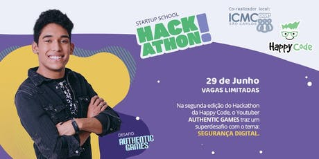 Hackathon Authentic Games | Happy Code São Carlos e ICMC USP ingressos