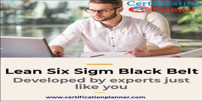 Lean Six Sigma Black Belt with CP/IASSC Exam Voucher in Greenville(2019)