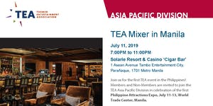TEA Asia Pacific Division - TEA Mixer in Manila