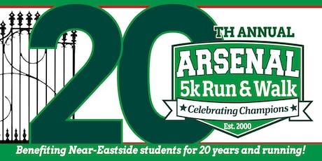 2019 Arsenal 5k Run/Walk tickets