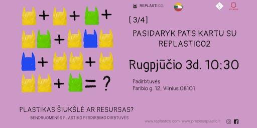 Pasidaryk pats kartu su REPLASTICO2