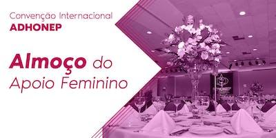 Almoço Apoio Feminino - Convenção ADHONEP 2019