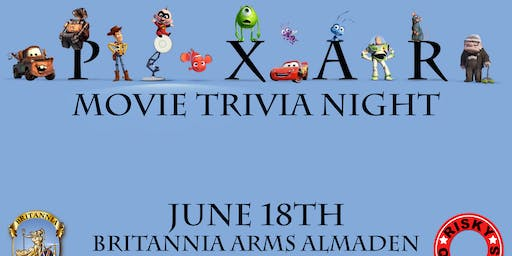 Pixar Movie Trivia Night!