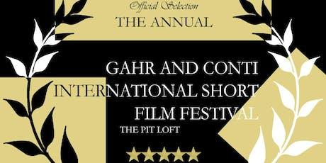 Gahr and Conti International Short Film Festival tickets