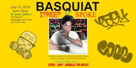 Basquiat Street 2 Spoke Art Show tickets