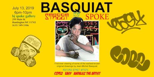 Basquiat Street 2 Spoke Art Show