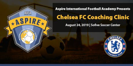 Chelsea FC Coaching Clinic presented by Aspire Int'l Football Academy tickets