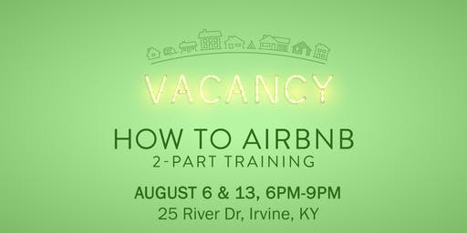 How to AirBnB Training