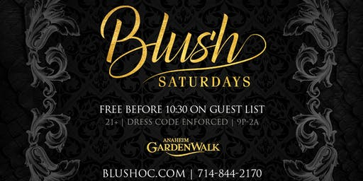 Blush Saturdays