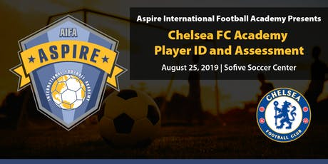 Chelsea FC Academy Player ID and Assessment Presented by Aspire tickets