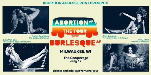 Abortion Access Front: The Tour